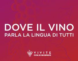 Vivite parla la lingua del vino