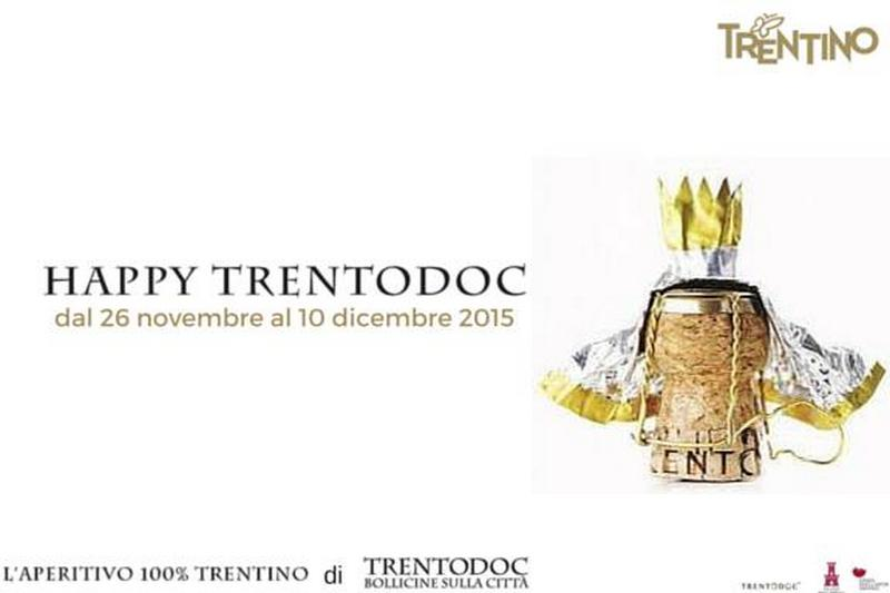 Happy Trentodoc, l'aperitivo very sparkling