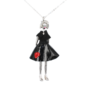 LaMiaMe_I_Love_You_Long_Black_Dress_Fashion_1
