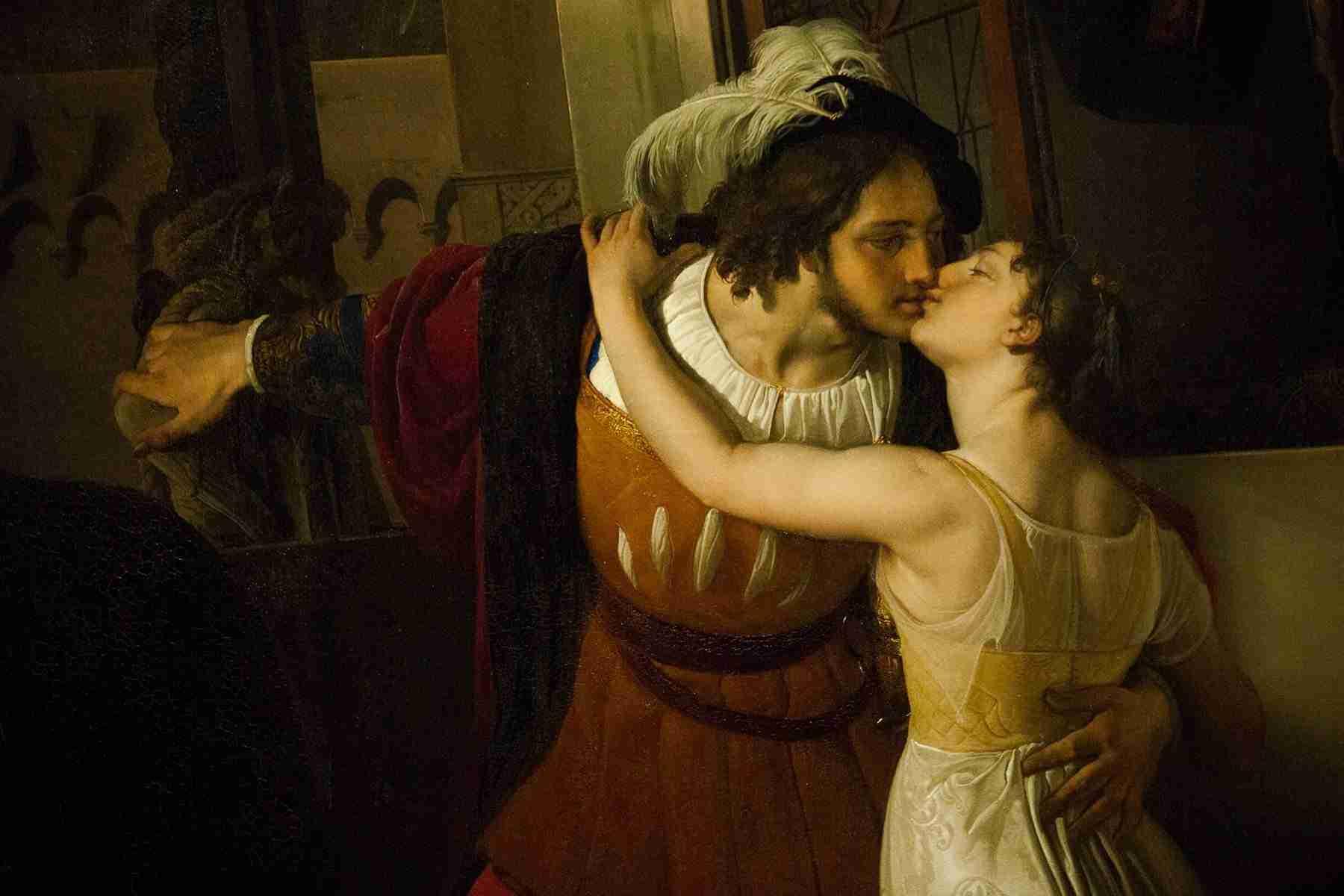 Un bacio val bene un calice. Alla salute di Hayez